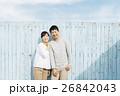 笑顔 夫婦 仲良しの写真 26842043