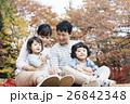 家族 ピクニック レジャーの写真 26842348
