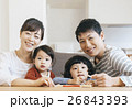 人物 家族 ファミリーの写真 26843393