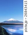 山中湖 富士山 けあらし 26843415
