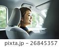 人物 女性 ドライブの写真 26845357