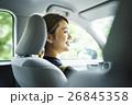 人物 女性 ドライブの写真 26845358