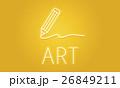 アート 美術 芸術のイラスト 26849211