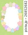 フレーム 花 梅のイラスト 26852682