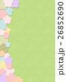 フエルト梅の花フレーム 26852690