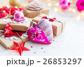 Christmas and New Year background with presents 26853297