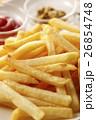 フライドポテト 揚げ物 洋食の写真 26854748