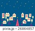 街並み クリスマスツリー 26864857