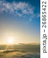 朝の太陽 26865422