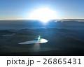 朝の太陽 26865431