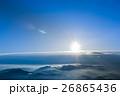 朝の太陽 26865436