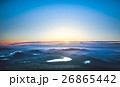 朝の太陽 26865442