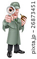 探偵 ムシメガネ ルーペのイラスト 26873451