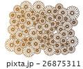 花柄模様 26875311