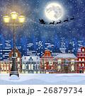 Christmas Winter Cityscape 26879734