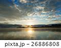 風景 屈斜路湖 朝日の写真 26886808