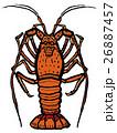 海産物 甲殻類 海老のイラスト 26887457