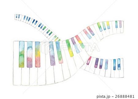 虹色鍵盤、交差 26888481