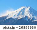 冬の霊峰富士 26896930