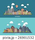 のぼり バナー 山のイラスト 26901532