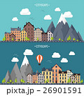 のぼり バナー 山のイラスト 26901591