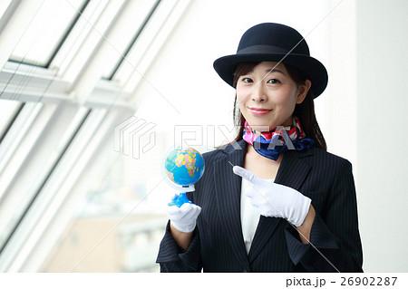 かわいい観光業スタッフ 26902287