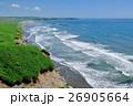 カモメ飛ぶ海岸線 26905664