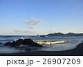 午後の海 自然風景 26907209