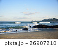 午後の海 自然風景 26907210