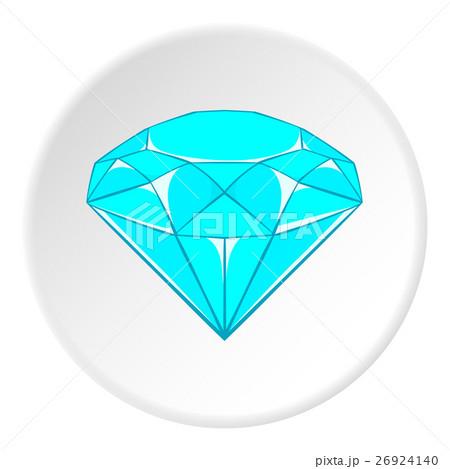 Diamond icon, cartoon styleのイラスト素材 [26924140] - PIXTA