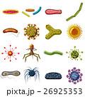 ウィルス ウイルス 病原菌のイラスト 26925353