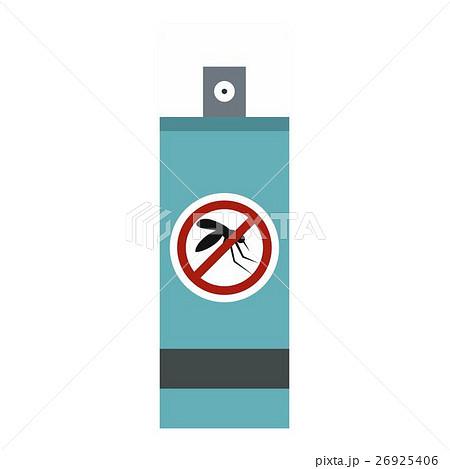 Mosquito repellent spray icon, flat styleのイラスト素材 [26925406] - PIXTA