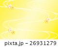 金梅 流水 黄色グラデーション 26931279