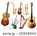 Different types of musical instruments 26938943