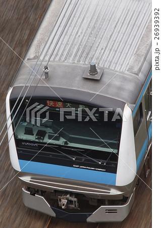 京浜東北線E233系電車(流し撮り) 26939392