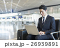 空港 ビジネスマン 出張の写真 26939891