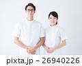 男女 看護師 白衣の写真 26940226