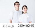 男女 看護師 白衣の写真 26940245