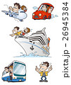 旅行素材カップル 26945384