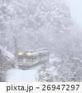 冬の只見線 26947297