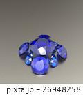 宝石 サファイア ジュエリーのイラスト 26948258