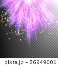 Purple burst effect. EPS 10 26949001