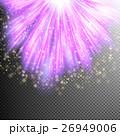 Purple burst effect. EPS 10 26949006