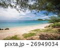 浜辺 景色 ブルーの写真 26949034