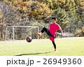 サッカー少年 26949360