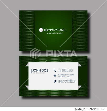Business Card Template.のイラスト素材 [26950925] - PIXTA