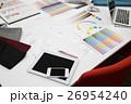 デザイン ビジネス タブレットの写真 26954240