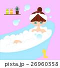 お風呂に入る女性 26960358