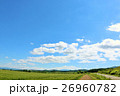 青空 雲 北海道の写真 26960782