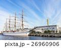 みなとみらい 日本丸 帆船の写真 26960906